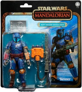 HASBRO LIMITED EDITION STAR WARS MANDALORIAN HEAVY FIGURE