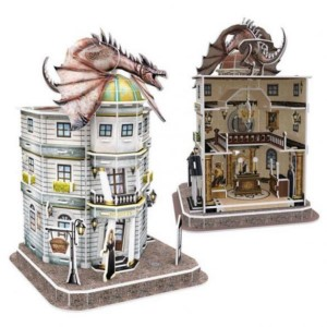 HARRY POTTER 3D PUZZLE BANCO DE GRINGOTTS