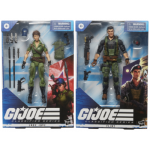 HASBRO G.I.JOE SERIES DISPLAY FIGURES (6)