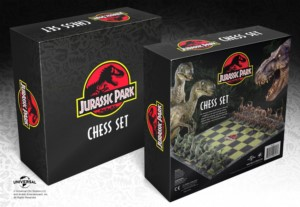 JURASSIC PARK CHESS GAME LIMITED EDITION 47 x 47