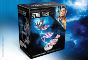 STAR TREK TRIDIMENSIONAL CHESS GAME