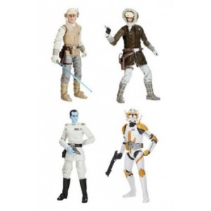 HASBRO STAR WARS BLACK SERIES ARCHIVE WAVE 1 DISPLAY (8)