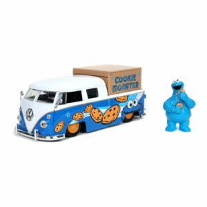 SESAME STREET VAN METAL CAR 1:24