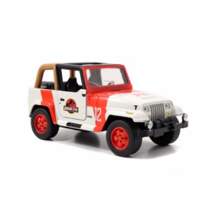 JURASSIC PARK JEEP METAL CAR 1:32