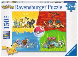 POKEMON ELEMENTS PUZZLE 150 PCS