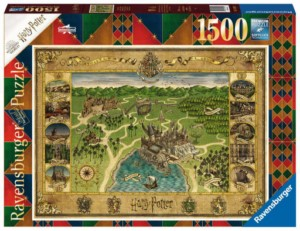HARRY POTTER MAP PUZZLE 1500 PCS