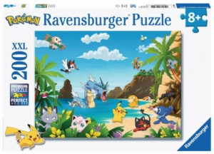 POKEMON BEACH PUZZLE 200 PCS