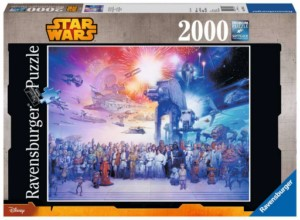 STAR WARS HISTORY PUZZLE 2000 PCS