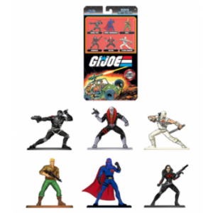 GIJOE 6 METAL FIGURES SET 4 CM