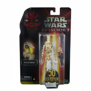 HASBRO STAR WARS BLACK SERIES 50 TH BATTLE DROID