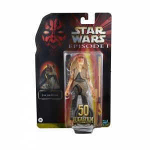 HASBRO STAR WARS BLACK SERIES 50 TH JAR JAR BINKS