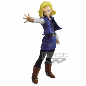BANPRESTO FIGURE DRAGON BALL ANDROID 18 18 CM
