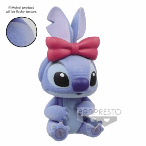 QPOSKET FIGURE DISNEY STITCH FLOCKED 6 CM