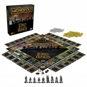 HASBRO LORD OF THE RINGS MONOPOLY