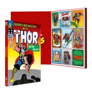 MARVEL THOR RETRO PING BADGE LIMITED SET