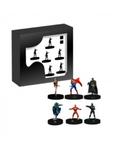 DC HEROCLIX JUSTICE LEAGUE UNLIMITED STARTER SET