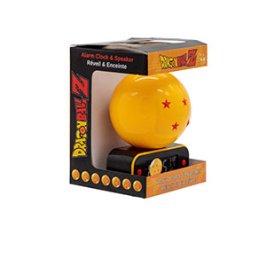 DRAGON BALL 4-BALL SPEAKER + ALARM CLOCK