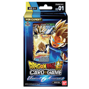 DRAGON BALL TCG EXPERT DECK