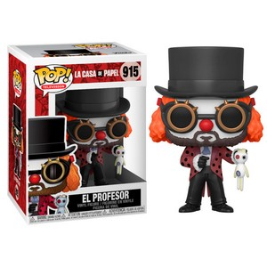 POP FIGURE LA CASA DE PAPEL: PROFESSOR O CLOWN