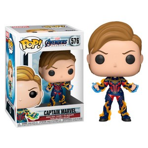 POP FIGURE MARVEL ENDGAME: CAPTAIN MARVEL NEW HAIR