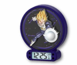 DRAGON BALL VEGETA LAMP + ALARM CLOCK