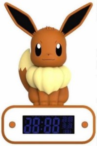 POKEMON EEVEE LAMP + ALARM CLOCK
