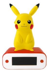 POKEMON PIKACHU LAMP + ALARM CLOCK
