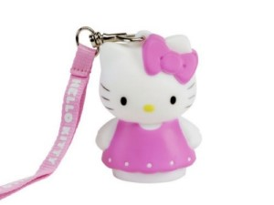 HELLO KITTY PINK 8 CM LAMP