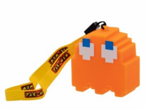 LAMPARA MINI PACMAN CLYDE ORANGE 6 CM