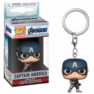 POP KEYRING MARVEL ENDGAME: CAPTAIN AMERICA