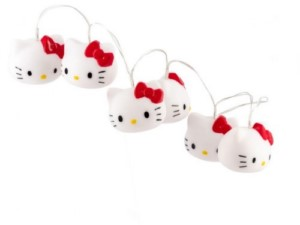 HELLO KITTY LED LIGHTS 6 UNITS