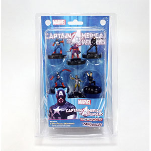MARVEL HEROCLIX CAPTAIN AMERICA & AVENGERS FAST FORCE