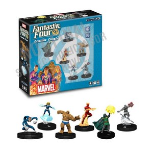 MARVEL HEROCLIX FANTASTIC FOUR COSMIC CLASH STARTER