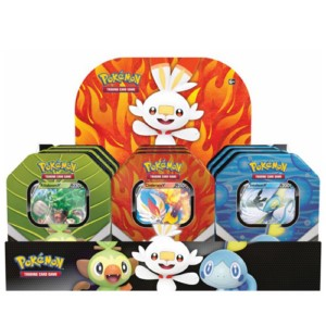 POKEMON GALAR COMPANIONS TIN BOX (9)