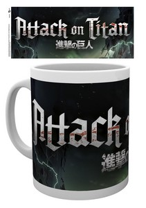 ATTACK ON TITAN LOGO MUG