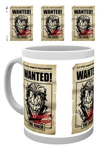 BATMAN JOKER WANTED MUG