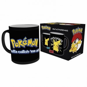 HEAT CHANGE POKEMON PIKACHU MUG