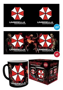 HEAT CHANGE RESIDENT EVIL UMBRELLA CORPORATION MUG