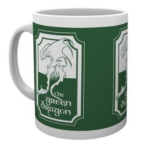 LOTR GREEN DRAGON MUG