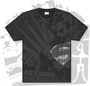 Camiseta superman full print gris oscuro xl
