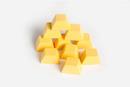 Contadores lingotes de oro madera (10)