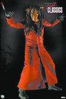 Figura saw jigsaw traje rojo 18 cms