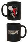 Taza hellboy y logo