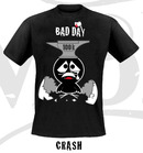 Camiseta bad day crash m