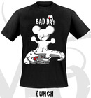Camiseta bad day lunch m