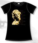 Camiseta chica marilyn primer plano m