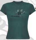 Camiseta chica popeye turquesa s