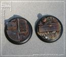Eden bases: isc/ techno, round 40mm *4