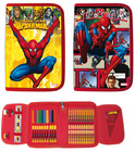 Plumier cremallera cole spiderman