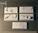 Taban bases: dwarven hall rectangular 25mm*50